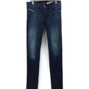DIESEL womens getlegg dark skinny jeans NEW 27 28